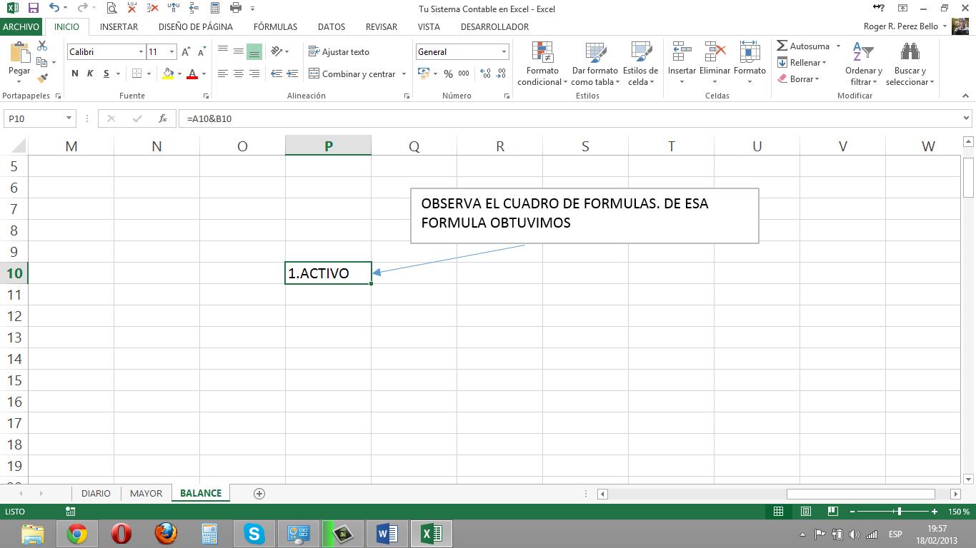 Increíble Plantilla De Contabilidad General Excel Patrón - Ejemplo ...