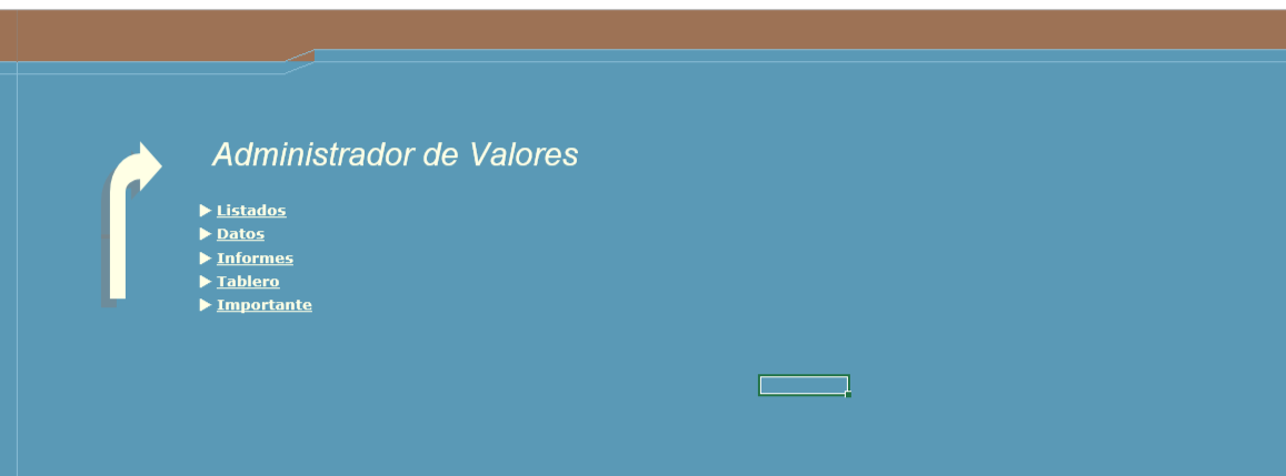 Administrador de Valores