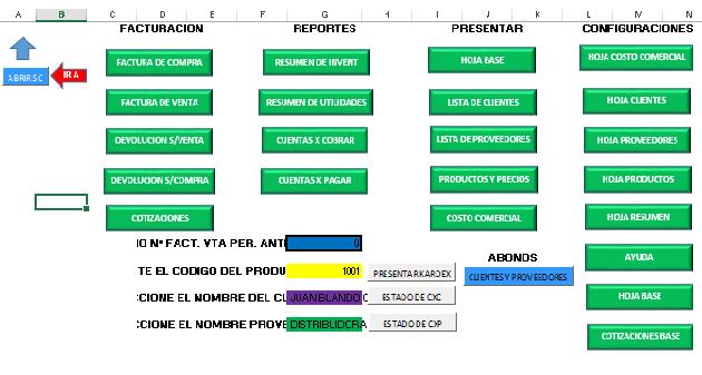 Sistema de Facturacion Basico