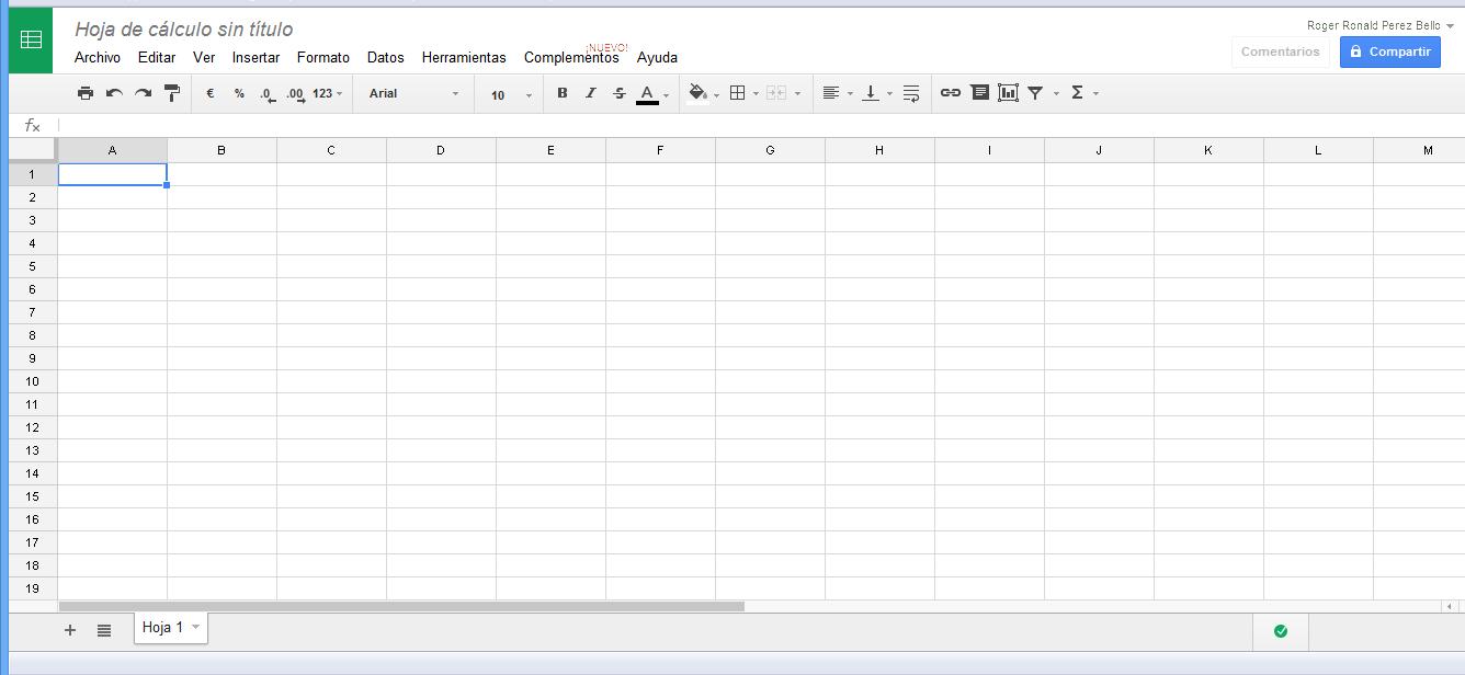 Excel Online - Como Abrir la Hoja de Calculo de google Drive - Blog ...