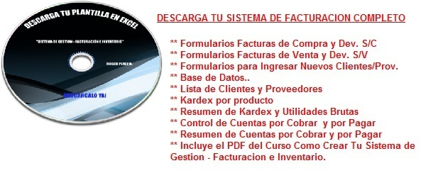 Sistema de Facturacion + PDF