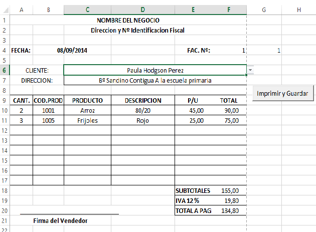 Factura 11