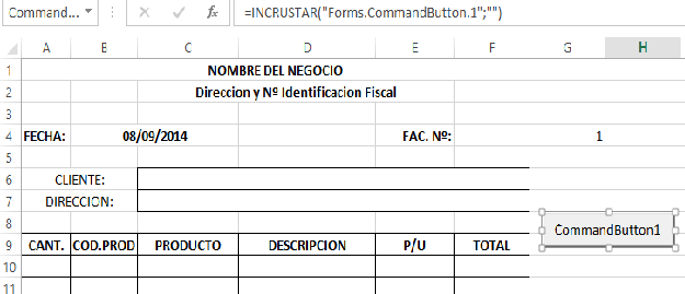 Como Crear Tu Sistema de Facturacin en Excel 2 Blog Aplica